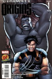 Ultimate Origins #1 Dynamic Forces Variant DF COA Wolverine Hulk Marvel comic book